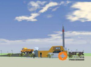 """Термомасляная котельная от """"УГК-Энергетика"""", работающая на твердом топливе (3D-модель)"""